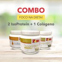 Combo 2 IsoProtein + 1 Colágeno (brinde Shakeira)