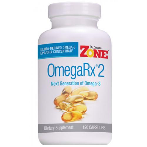 OmegaRx 2 - 120 cápsulas (Ômega 3 Ultraconcentrado)
