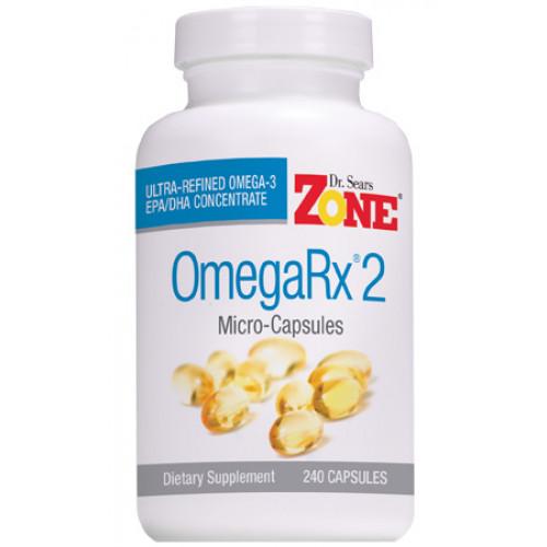 OmegaRx 2 - 240 Microcápsulas (Ômega 3 Ultraconcentrado)